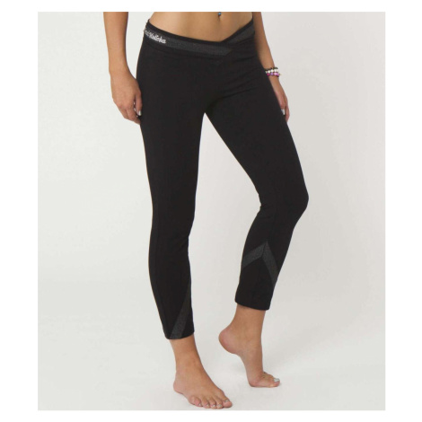 Damen Leggings METAL MULISHA - BLOCKED CAPRIS - BLK XL