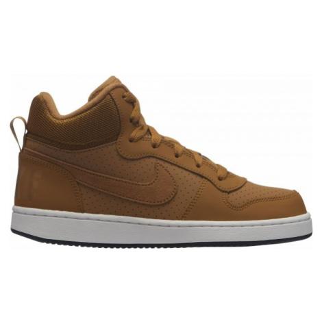 Nike COURT BOROUGH MID (GS) braun - Kinder Sneaker