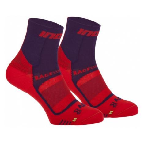 Socken Inov-8 RACE ELITE PRO SOCK 000847-PLRD-01 violet mit rot