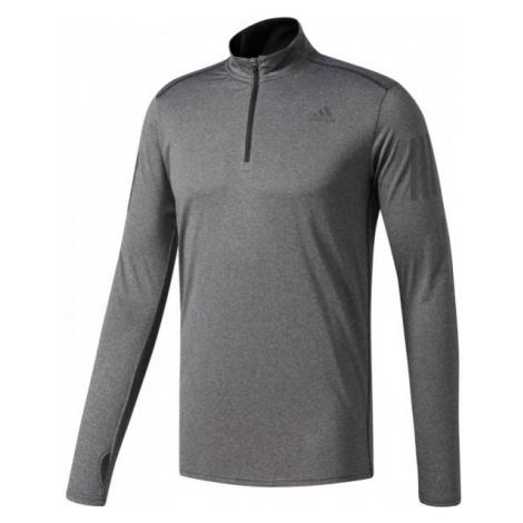 adidas RS LS ZIP grau - Herren T-Shirt