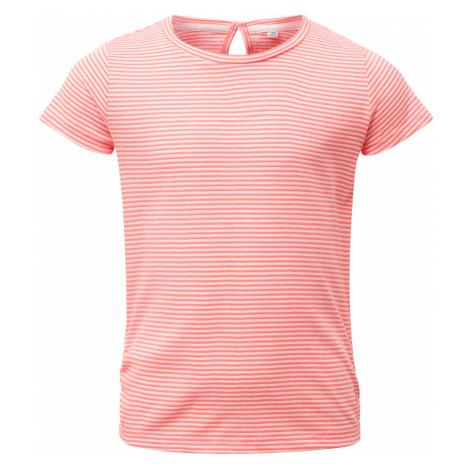 TOM TAILOR Mädchen Gestreiftes T-Shirt, rosa, gestreift