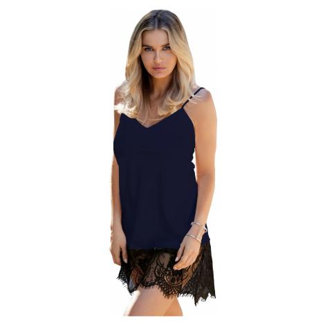 Luxuriöse Nachthemden für Damen Chanelle dark blue DKaren