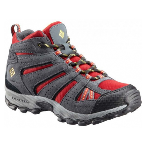 Columbia YOUTH NORTH PLAINS MID WP rot - Winterschuhe für Kinder