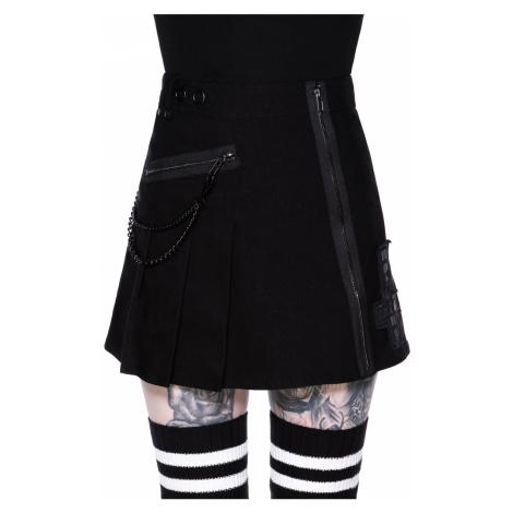 Damen Rock KILLSTAR - Calling Alice Mini Skirt - SCHWARZ - KSRA002138