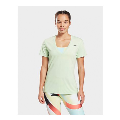 Reebok activchill athletic t-shirt - Neon Mint - Damen, Neon Mint
