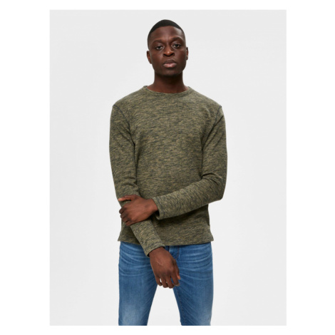 Selected Homme Jay Pullover Grün