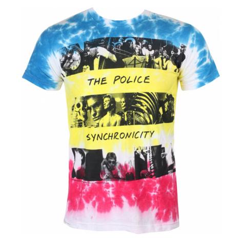 Metal T-Shirt Männer Police - SYNCHRONICITY - LIQUID BLUE - 11930