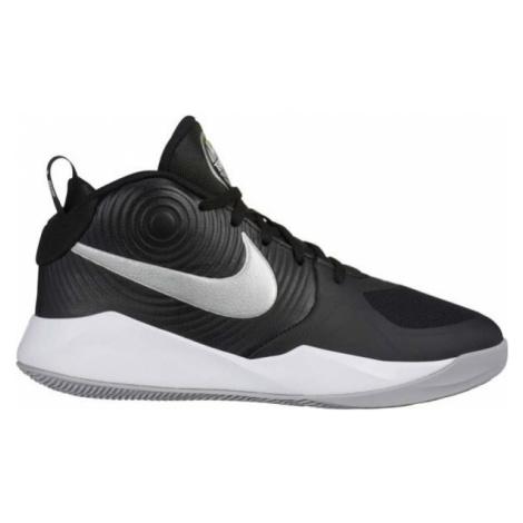 Nike TEAM HUSTLE D9 schwarz - Kinder Basketballschuhe