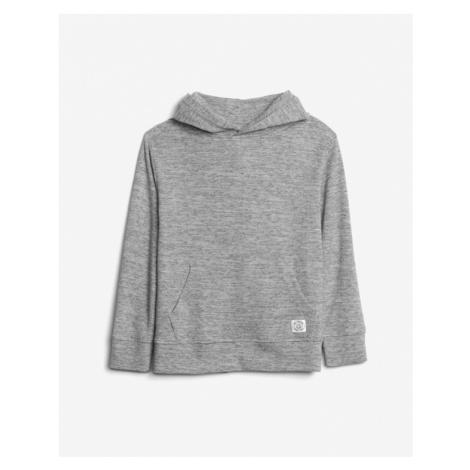 Graue sweatshirts über kopf für jungen