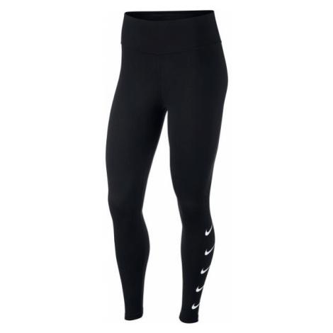 Nike SWOOSH RUN TGHT schwarz - Damen Leggings