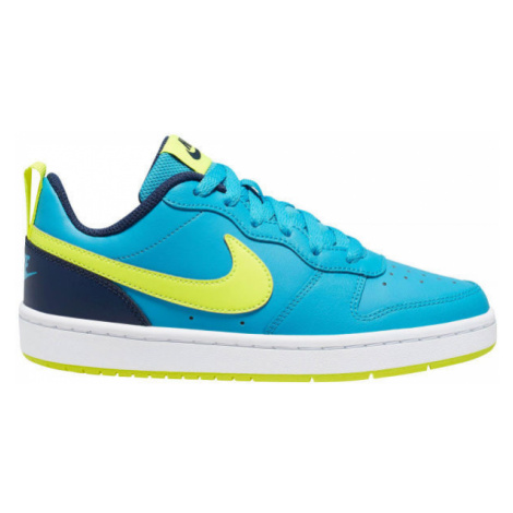Nike COURT BOROUGH LOW 2 GS blau - Kinder Sneaker
