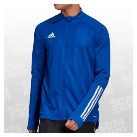 Adidas Condivo 20 Training Jacket blau/weiss Größe XXL