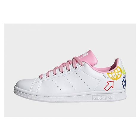 Adidas Originals Stan Smith Schuh - Cloud White / True Pink / Cloud White - Damen, Cloud White /
