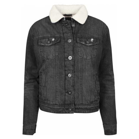 Urban Classics Ladies Sherpa Denim Jacket