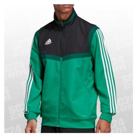 Adidas Tiro 19 Präsentationsjacke grün/schwarz Größe S