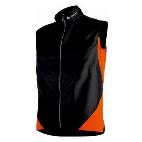 Damen Weste Sensor PARACHUTE Extralite black Orange 14100009