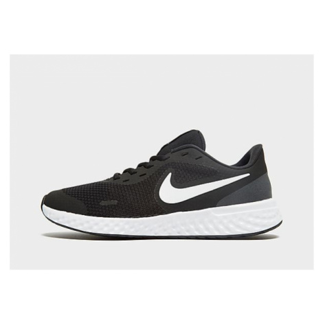 Nike Revolution 5 Kinder - Black/White, Black/White
