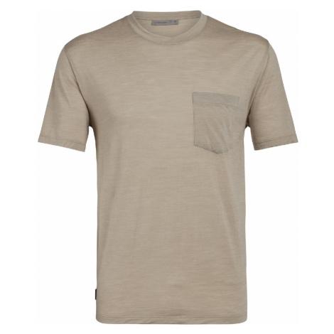 Icebreaker Nature Dye Drayden SS Pocket Herren T-Shirt beige Icebreaker Merino
