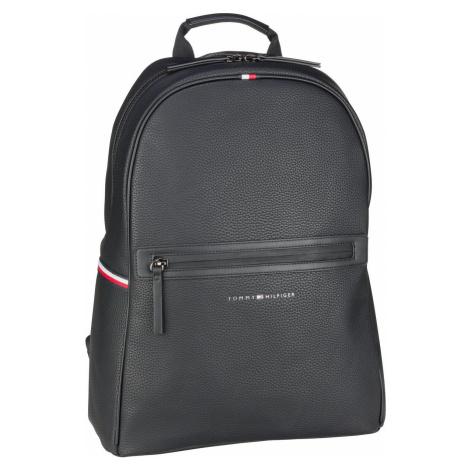 Tommy Hilfiger Rucksack / Daypack Essential PU Backpack SP21 Black (19.1 Liter)