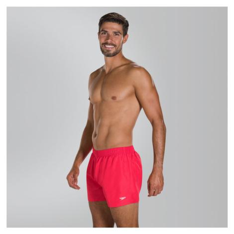 Speedo Fitted Leisure Badeshorts 33cm, Rot