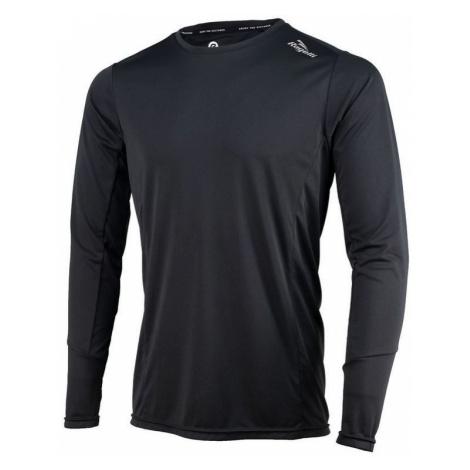 Sport- funktionell T-Shirt Rogelli BASIC mit langen Ärmeln, 800.261. black