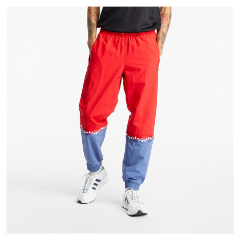 adidas Originals Adicolor Sliced Trefoil Track Pants Scarlet/ Crew Blue
