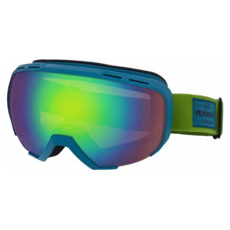 Reaper SOLID grün - Snowboardbrille