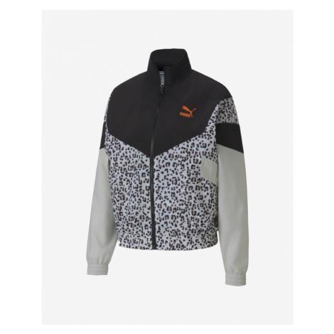 Puma TFS Printed Jacket Grau