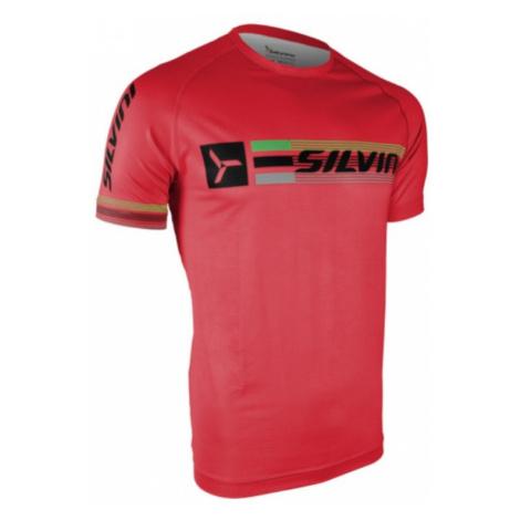 Herren T-Shirt Silvini PROMO MT855 red