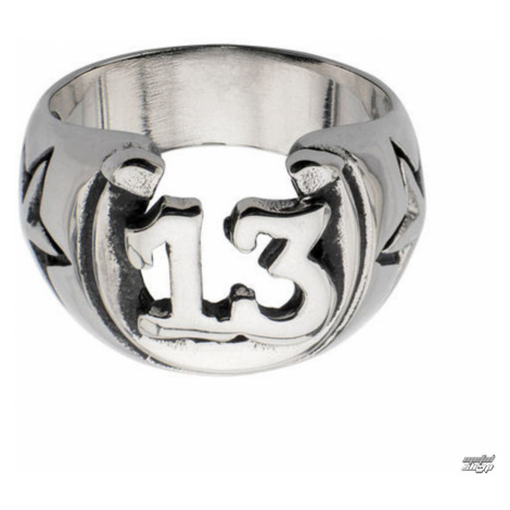 Ring INOX - BLK LCKY13 HORSHOE - FR684 12