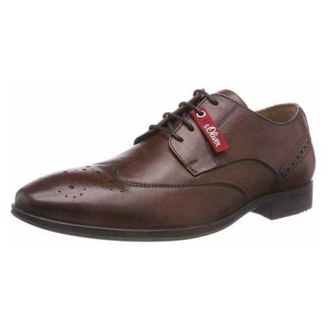 Herren s.Oliver Business Schuhe braun