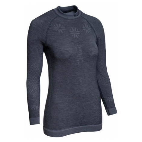Blizzard VIVA LONG SLEEVE WOOL dunkelgrau - Damen Funktionstrikot