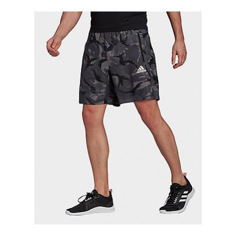 Adidas Designed To Move Camouflage AEROREADY Shorts - Grey Four - Herren, Grey Four