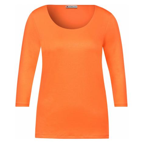 Street One Shirt Basic Pania orange