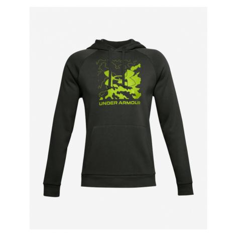 Under Armour Rival Fleece Box Logo Sweatshirt Grün