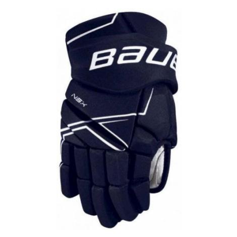 Bauer NSX GLOVES JR blau - Eishockey Handschuhe für Kinder