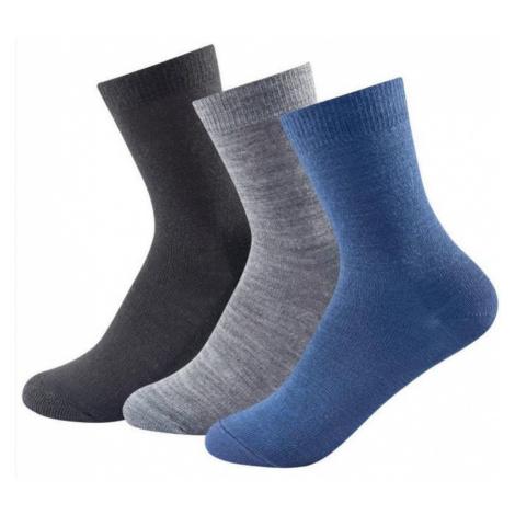 Socken Devold DAILY LIGHT KID SOCK 3 Pack 592-023 273