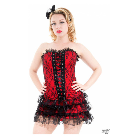 Frauenkleidung HEARTS AND ROSES - Red Moulin Rouge - 0227rcd 8/36