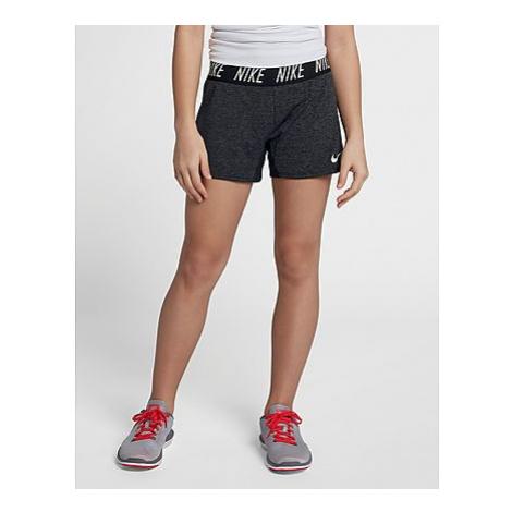 Nike Nike Dri-FIT Trophy Training Shorts Kinder - Black/Heather/White, Black/Heather/White
