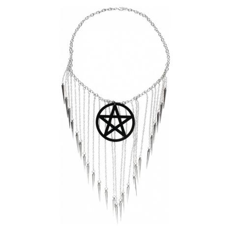 Halskette Luciferothica - Pentagram Black - LUC013