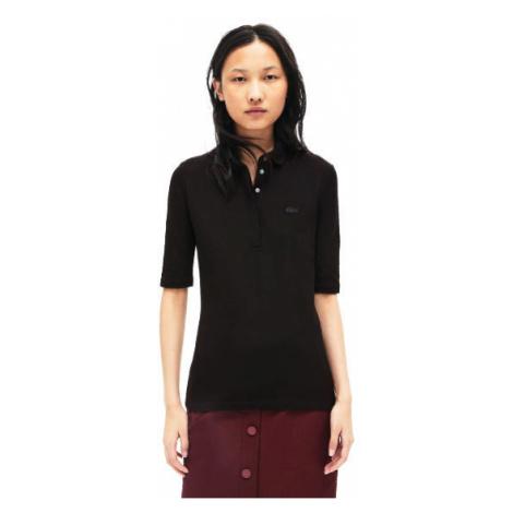 Lacoste S S/S BEST POLO schwarz - Poloshirt für Damen