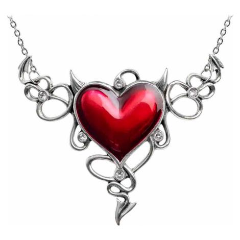 Halskette ALCHEMY GOTHIC - Devil Heart Genereux - ULFP25