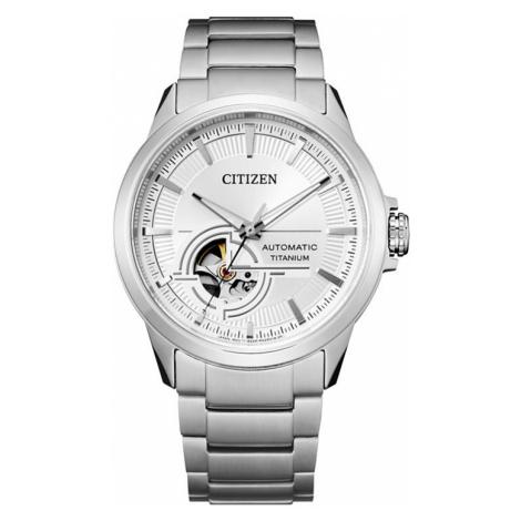 Citizen Herrenuhr Titanium NH9120-88A