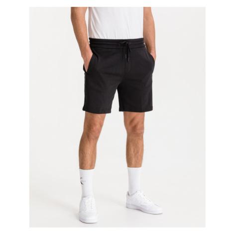 Calvin Klein Logo Jacquard Shorts Schwarz