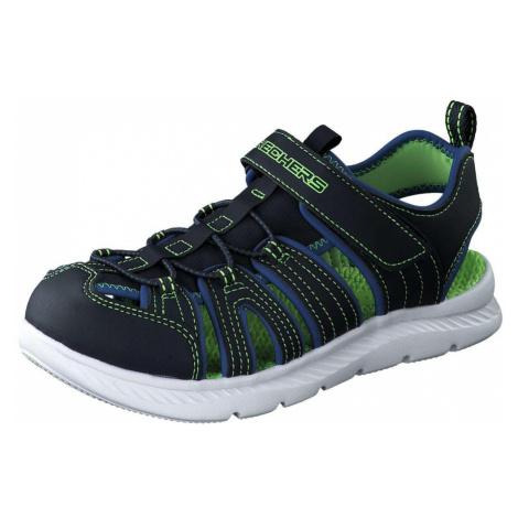Skechers C Flex Sandal 2.0 Heat Blast Jungen blau