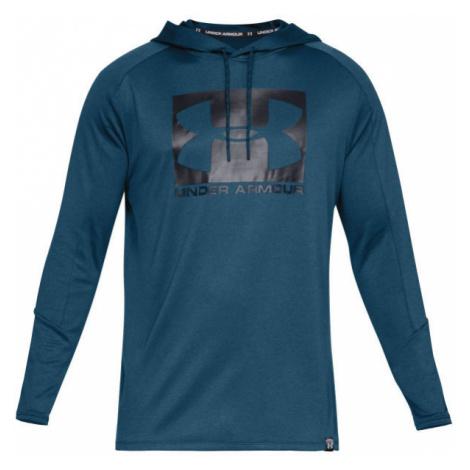 Under Armour LIGHTER LONGER PO HOODIE blau - Sweatshirt für Herren