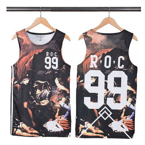 Rocawear Ceasar Basketball Tank Tops Black R1401T157-100