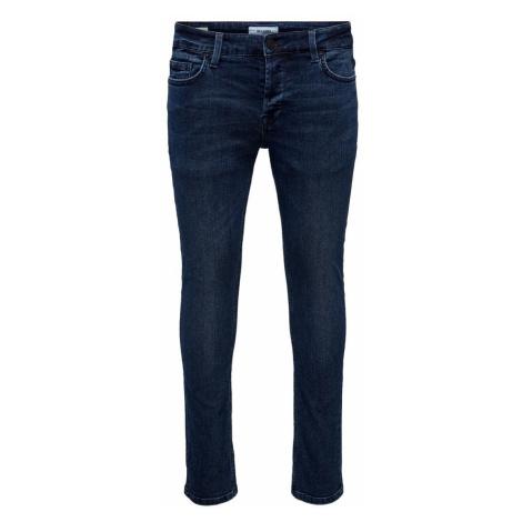 ONLY & SONS Onsloom Life Dark Blue Slim Fit Jeans Herren Blau