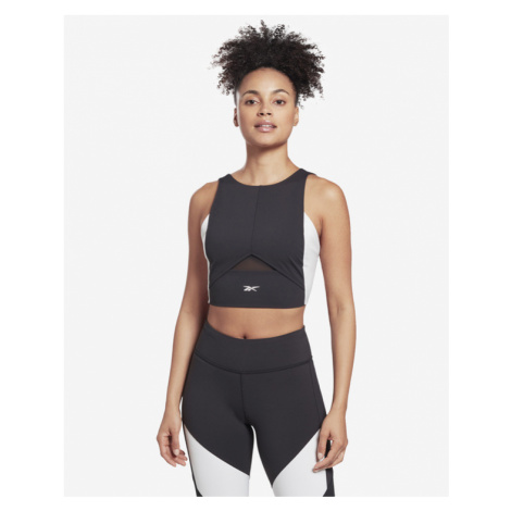 Reebok Colorblock Crop top Schwarz