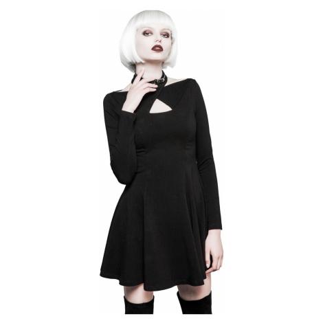 Damen Kleid PUNK RAVE - Mystica little - OPQ-281 BK